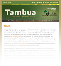 Tambua E-Newsletter
